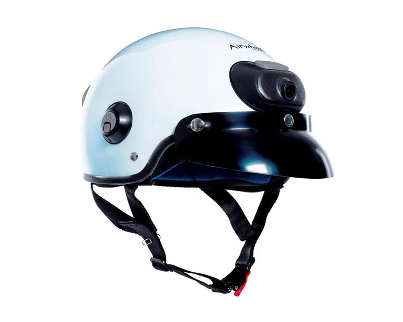 Умный велошлем Airwheel C6 White C6-WHITE-M
