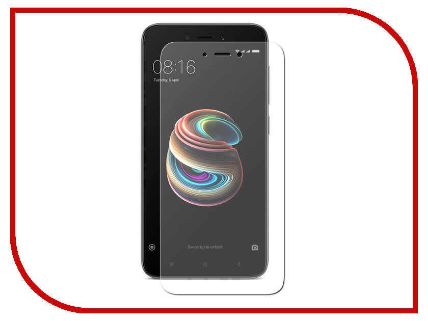 Аксессуар Защитное стекло Xiaomi Redmi 5A Red Line Tempered Glass аксессуар защитное стекло xiaomi redmi 4x 5 0 red line full screen tempered glass white