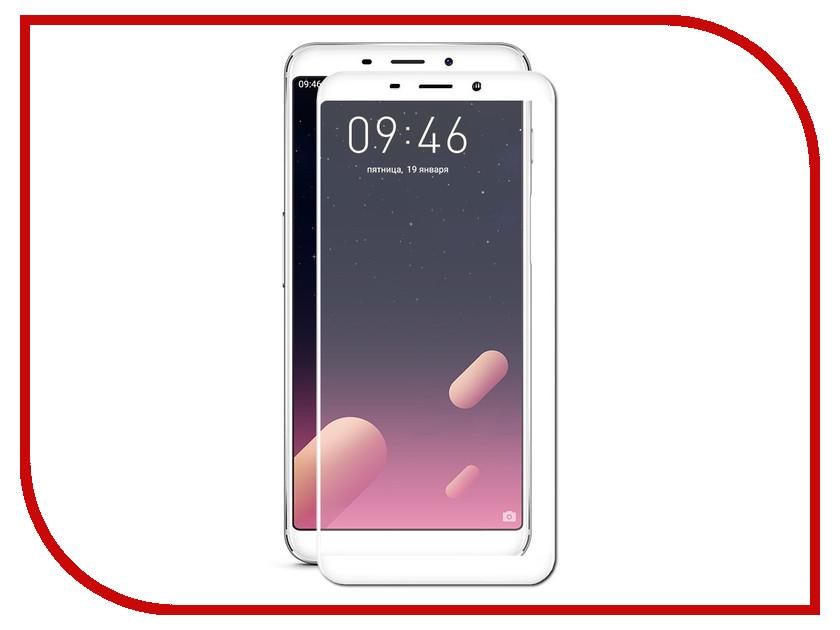 Аксессуар Защитное стекло Meizu M6s Red Line Full Screen Tempered Glass White аксессуар защитное стекло meizu u20 solomon full cover white