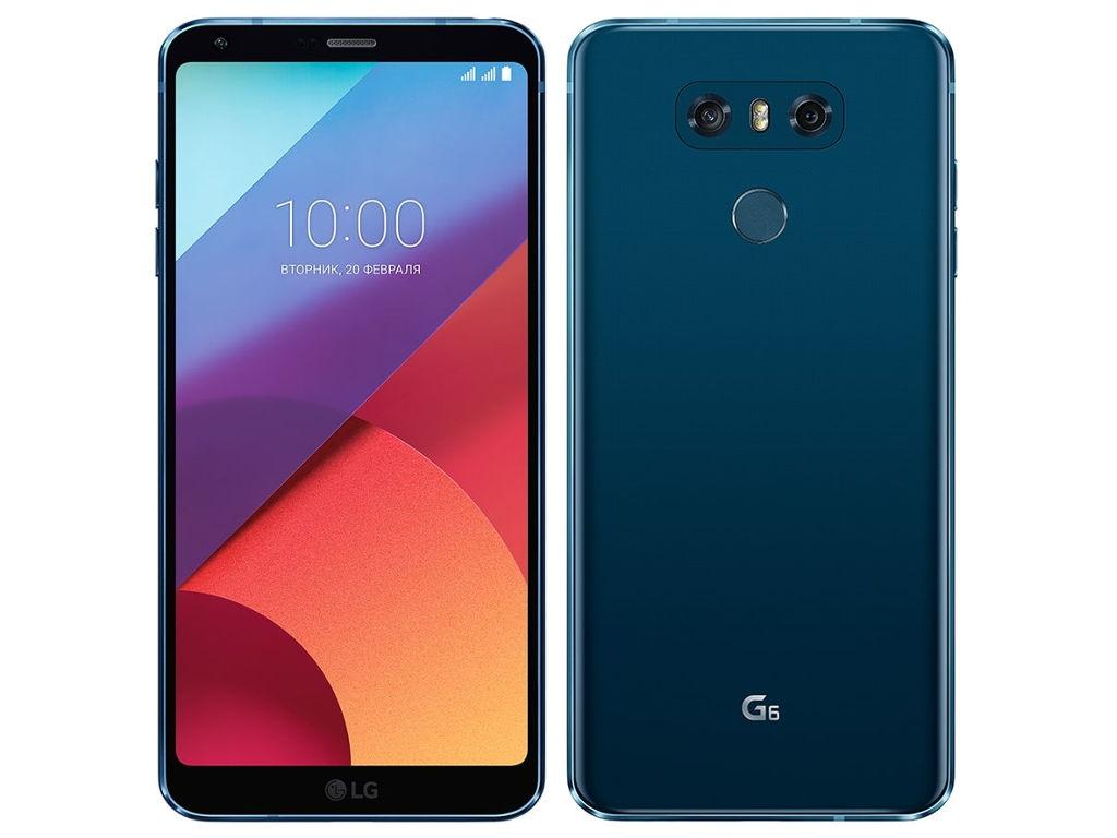 Сотовый телефон LG H870DS G6 64Gb Moroccan Blue