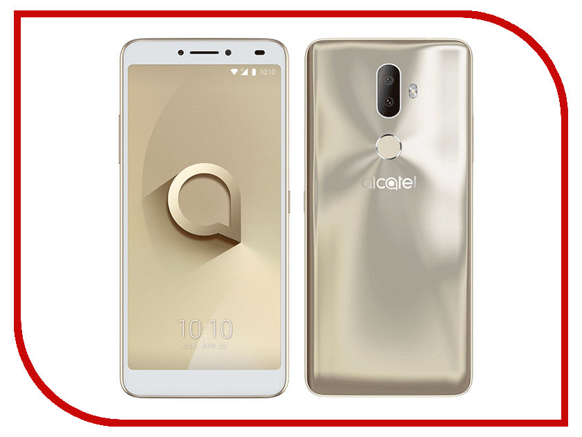 Сотовый телефон Alcatel 5099D 3V Black-Gold 2 5mw line laser module 3v