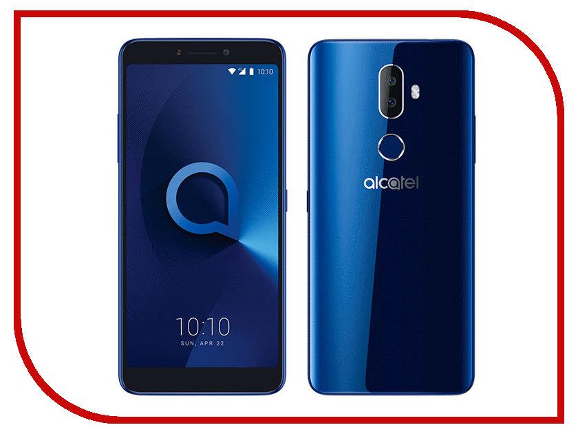 Сотовый телефон Alcatel 5099D 3V Black-Blue 200pcs ams1117 3 3v ams1117 1117 3 3v 1a voltage regulator ldo sot 223