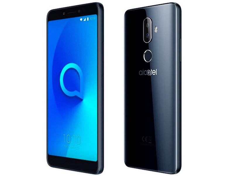 Сотовый телефон Alcatel 5099D 3V Black-Black