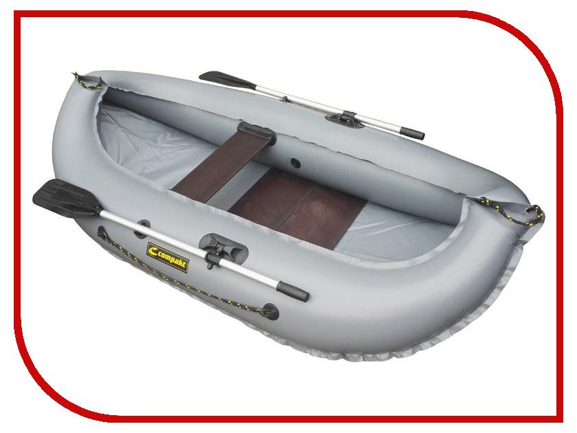 Лодка Лидер Компакт-240 Grey комод лидер 3 2