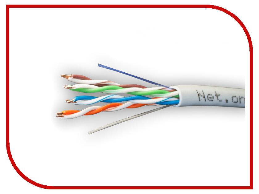 Фото Сетевой кабель Net.on UTP CCA UTP 24 AWG Cat.5e 4 Пары 305m