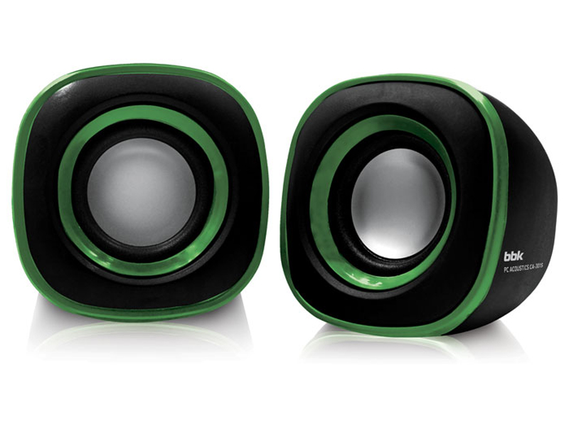 Колонка BBK CA-301S Black-Green цены