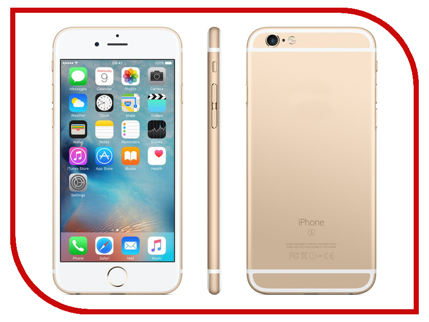 Сотовый телефон Apple iPhone 6S Plus 32GB восстановленный Gold сотовый телефон apple iphone 7 plus 32gb silver mnqn2ru a