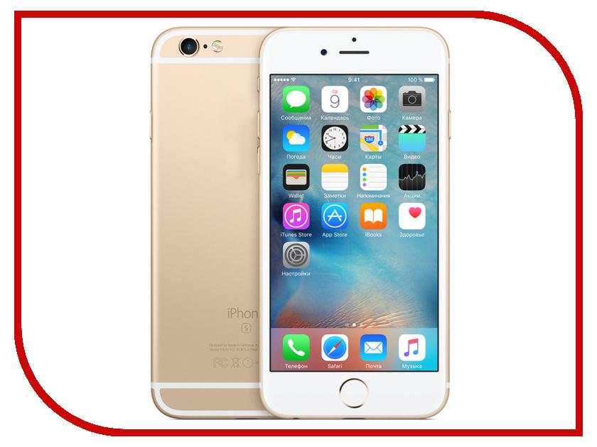 Сотовый телефон Apple iPhone 6S 64GB Gold FKQQ2RU/A восстановленный apple iphone se 64gb rose gold mlxq2ru a