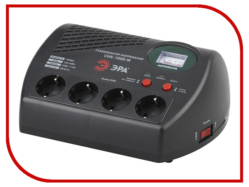 Стабилизатор ЭРА СНК-1000-М