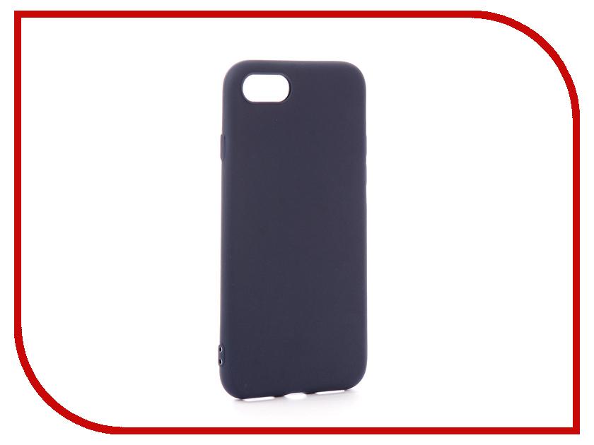 Аксессуар Чехол EVA Silicone для APPLE iPhone 7/8 Blue IP8A001BL-7 newsets mercury flash powder tpu protector case for iphone 7 4 7 inch baby blue