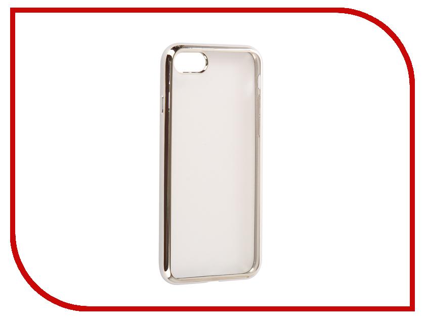Аксессуар Чехол EVA Silicone для APPLE iPhone 7/8 Transparent Silver IP8A010S-7 eva eva mp002xw1gi9z