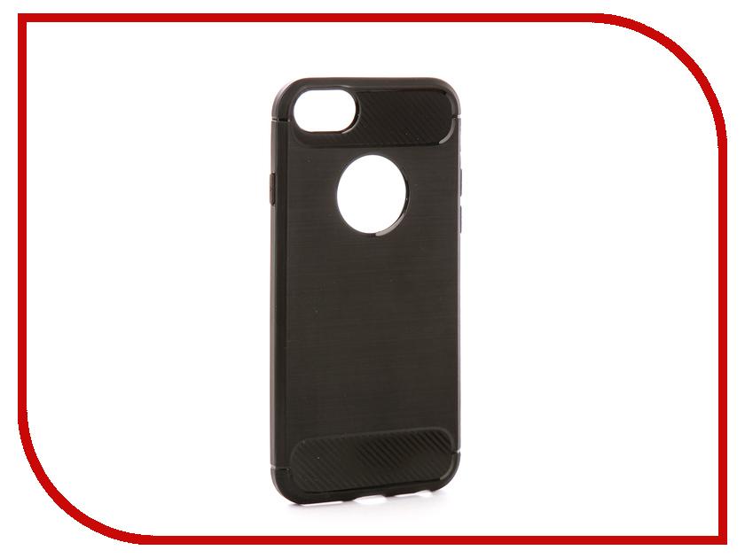 Аксессуар Чехол EVA Silicone для APPLE iPhone 6/6s Black Carbon IP8A012B-6