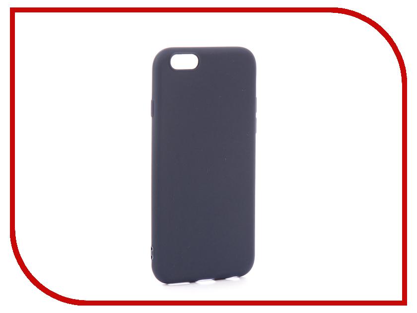 Аксессуар Чехол EVA Silicone для APPLE iPhone 6/6s Blue IP8A001BL-6 аксессуар чехол eva silicone для apple iphone 6 6s black carbon ip8a012b 6