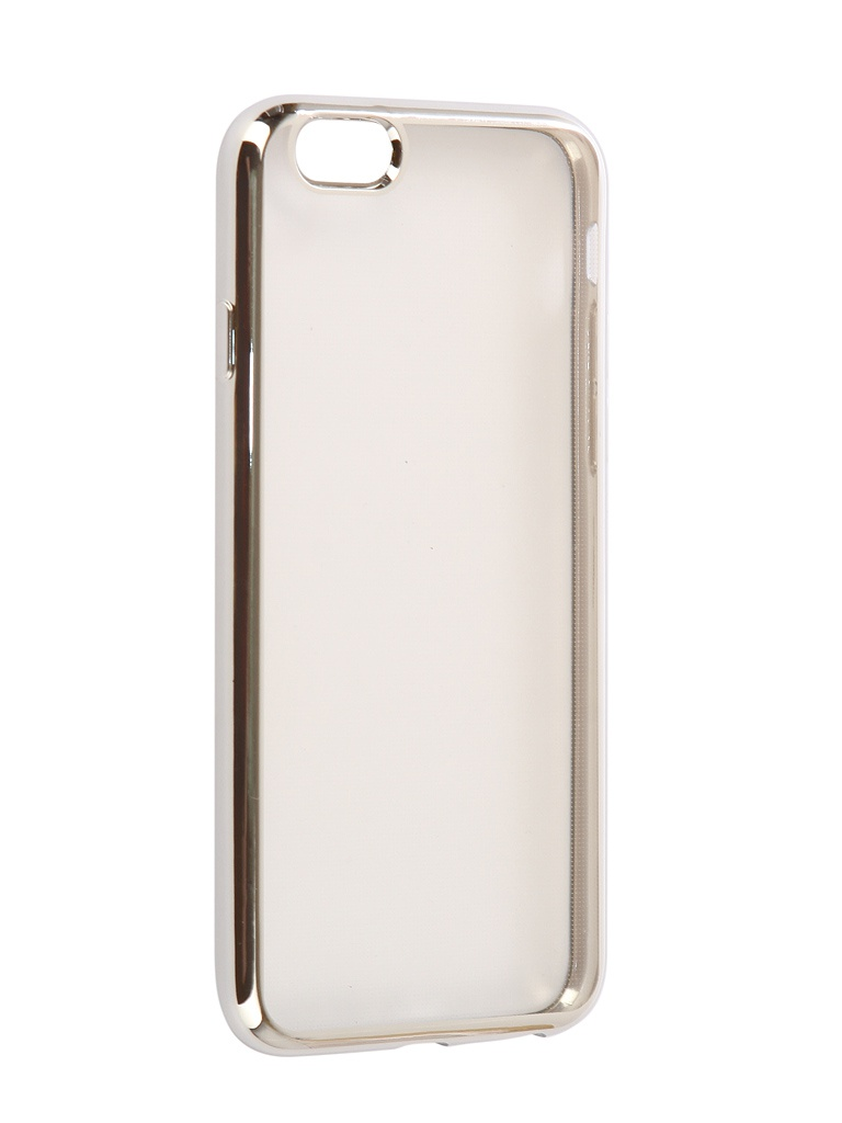 Чехол Eva для APPLE iPhone 6 / 6s Silicone Transparent Silver IP8A010S-6