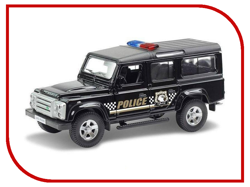 Игрушка Ideal Land Rover Defender Police 1:32 ID-019021P land rover defender 1998 г