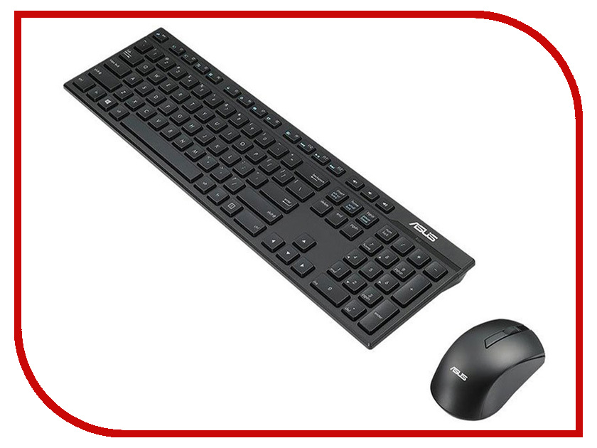 Набор ASUS W2500 Black 90XB0440-BKM040