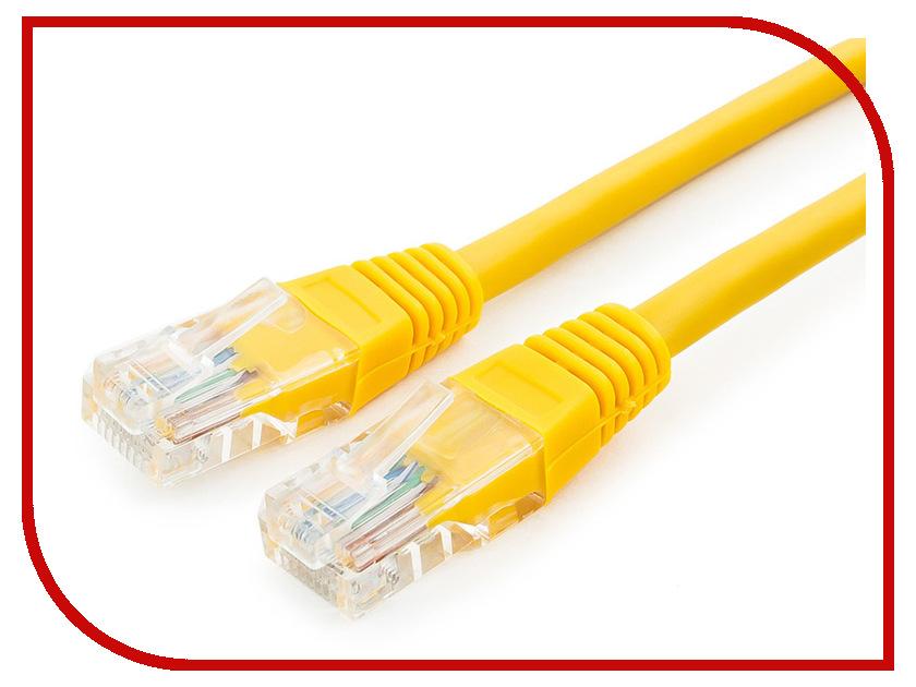 Купить Сетевой кабель Gembird Cablexpert UTP cat.5e 7.5m Yellow PP12-7.5M/Y