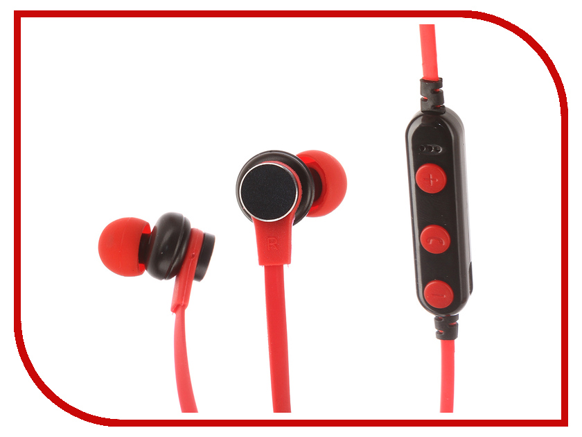 Ademda Ademda ADA13 Wireless 4.2 + Volume control Red все цены