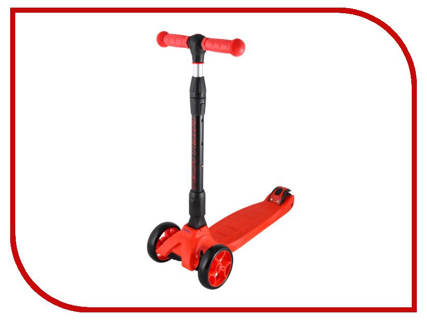 Самокат Tech Team TT Tiger Pro Red cедло велосипедное pro aerofuel tt 142 мм цвет черный
