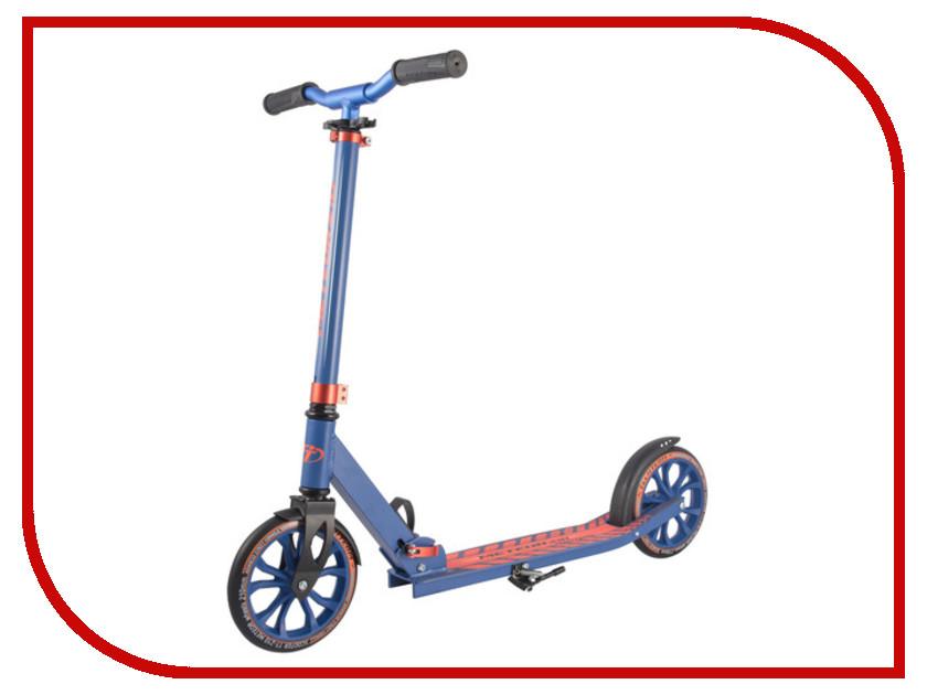 Самокат Tech Team Meteor Orange-Blue шлем tech team plasma 550 m blue white