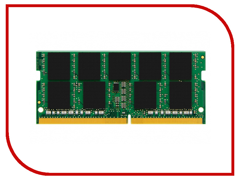 Модуль памяти Kingston DDR4 SODIMM 2400MHz PC4-19200 - CL17 8Gb KCP424SS8/8 samsung m471a1k43bb1 cpbd0 ddr4 8gb unb sodimm 2133
