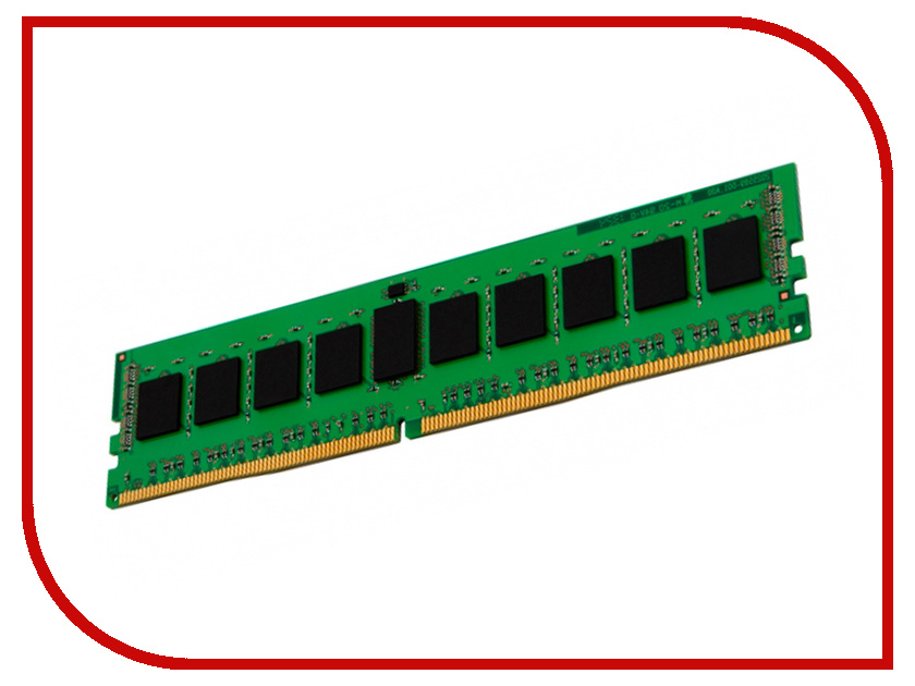 Модуль памяти Kingston DDR4 DIMM 2133MHz PC4-17000 - CL15 8Gb KCP421NS8/8 модуль памяти patriot ddr4 so 2133mhz pc 17000 cl15 8gb psd48g21332s