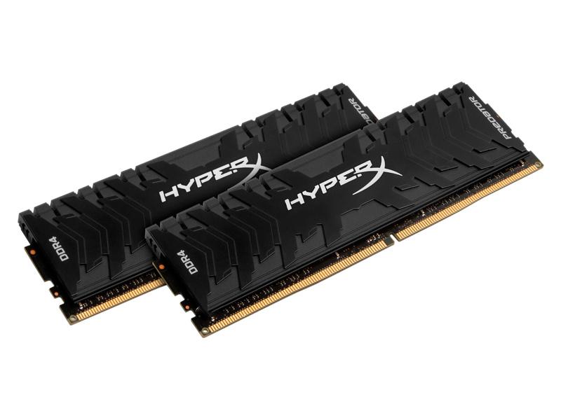 Модуль памяти Kingston HyperX Predator DDR4 DIMM 3200MHz PC4-25600 - CL16 16Gb KIT (2x8Gb) HX432C16PB3K2/16 цена 2017