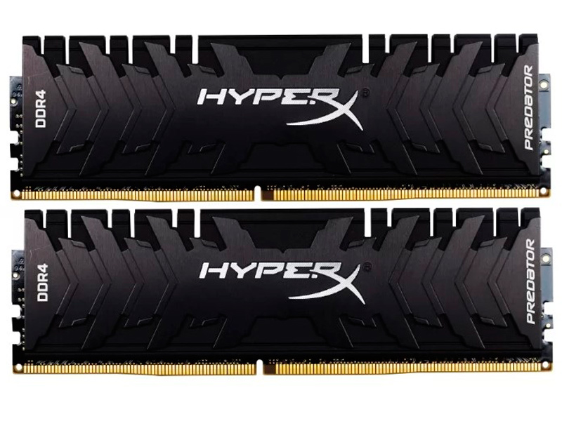 Модуль памяти Kingston HyperX Predator DDR4 DIMM 3000MHz PC4-24000 CL15 - 16Gb KIT (2x8Gb) HX430C15PB3K2/16