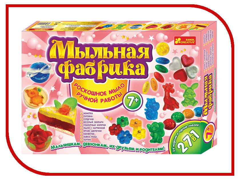 Фото Набор Ranok Creative Мыльная фабрика 15100109Р