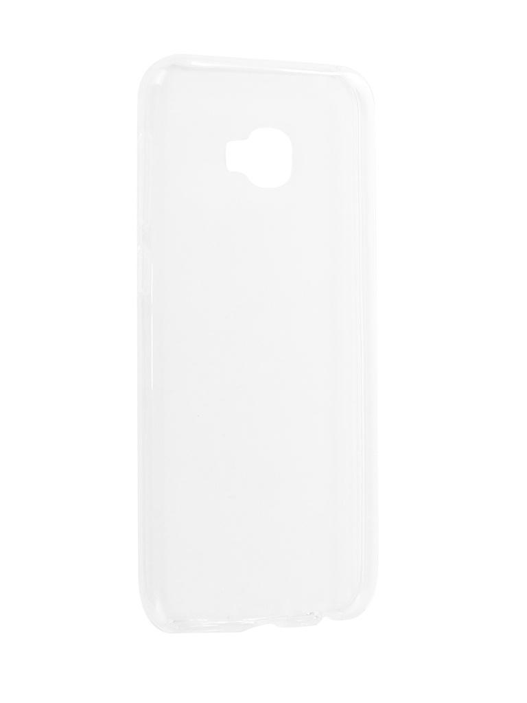 Аксессуар Чехол-накладка для Asus Zenfone 4 Selfie Pro ZD552KL Media Gadget Essential Clear Cover ECCAZ4SP55TR