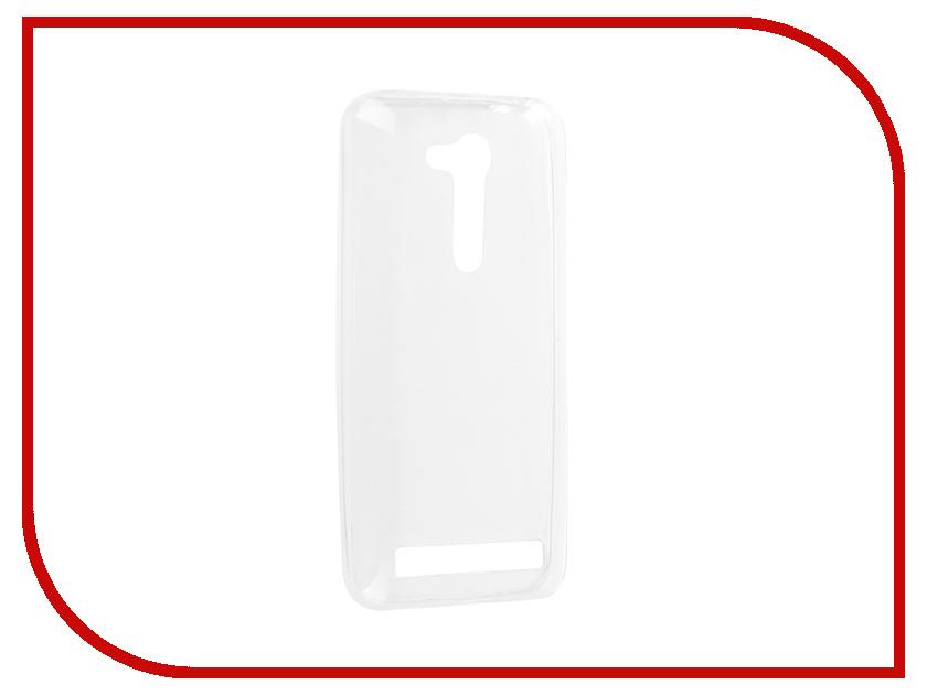 Аксессуар Чехол-накладка ASUS Zenfone Go ZB452KG Media Gadget Essential Clear Cover ECCAZG45TR аксессуар защитная пленка alcatel onetouch idol alpha media gadget premium прозрачная mg986
