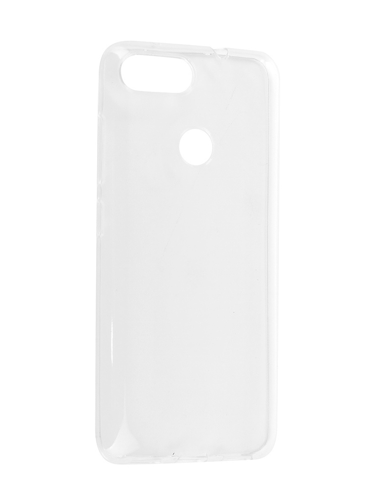 Аксессуар Чехол-накладка для ASUS ZenFone Max Plus M1 ZB570TL Media Gadget Essential Clear Cover ECCAZMP57TR