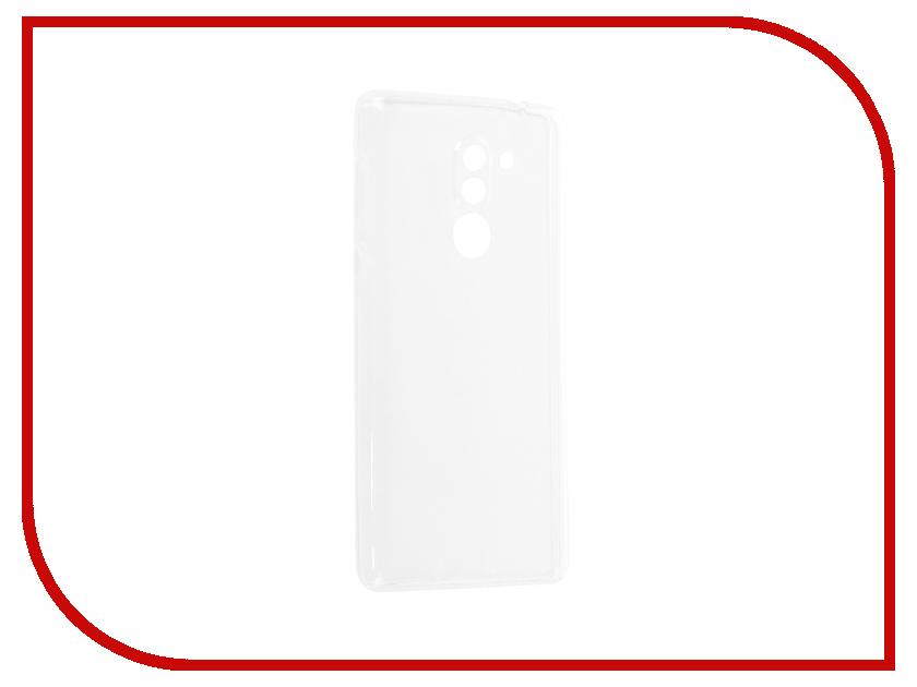 Аксессуар Чехол-накладка Huawei Honor 6X Media Gadget Essential Clear Cover ECCHH6XTR аксессуар защитная пленка alcatel onetouch idol alpha media gadget premium прозрачная mg986