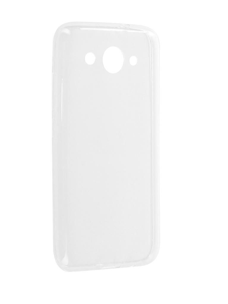 Аксессуар Чехол-накладка Media Gadget для Huawei Y3 2017 Essential Clear Cover ECCHY317TR