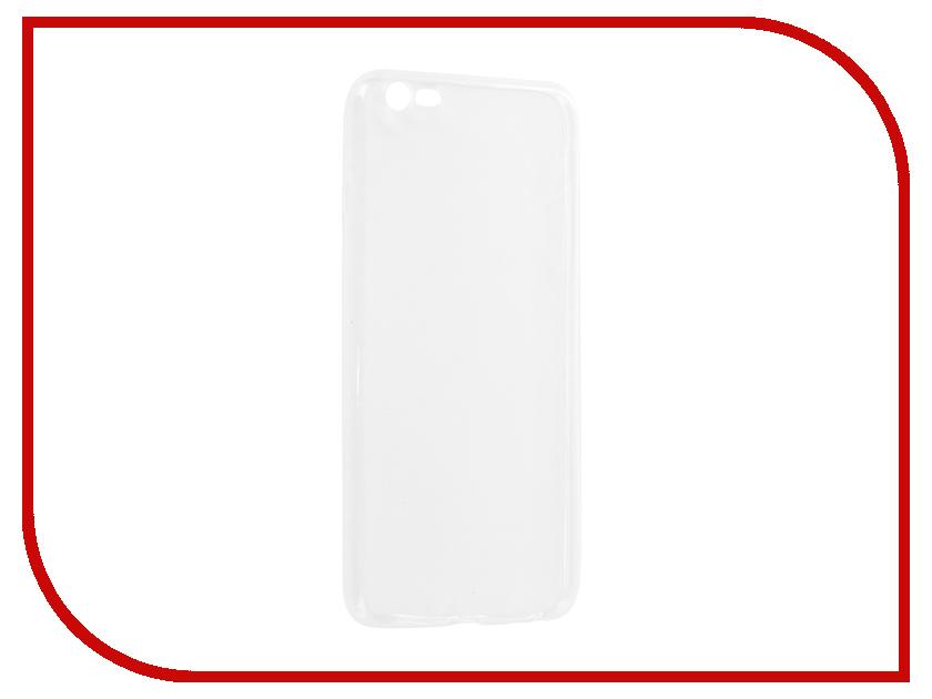 Аксессуар Чехол-накладка Media Gadget Essential Clear Cover для APPLE iPhone 6 Plus / 6S Plus ECCIP6PTR аксессуар защитная пленка alcatel onetouch idol alpha media gadget premium прозрачная mg986