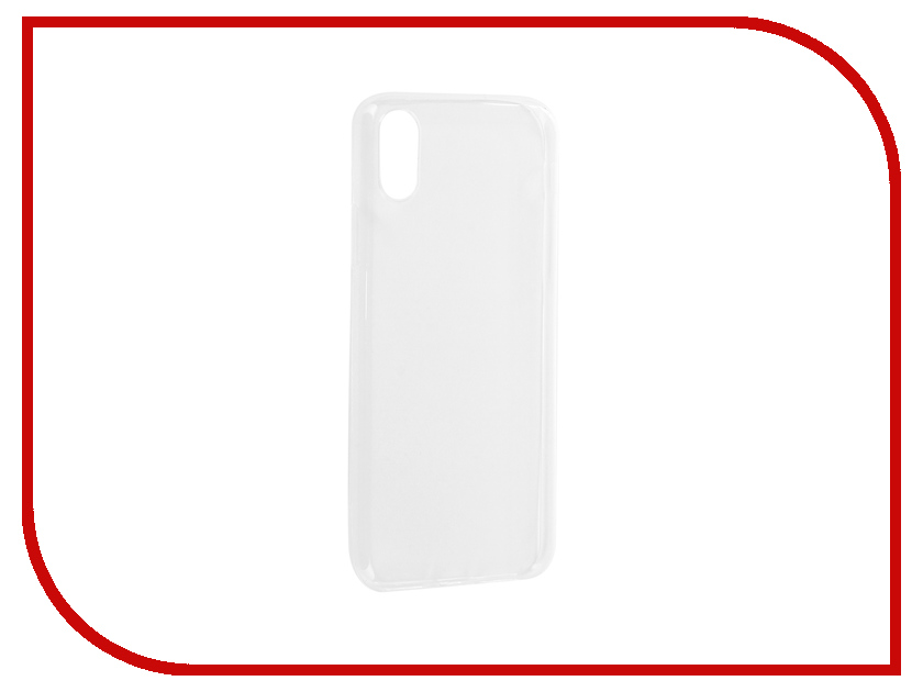 Аксессуар Чехол-накладка Media Gadget Essential Clear Cover для APPLE iPhone X ECCIPXTR