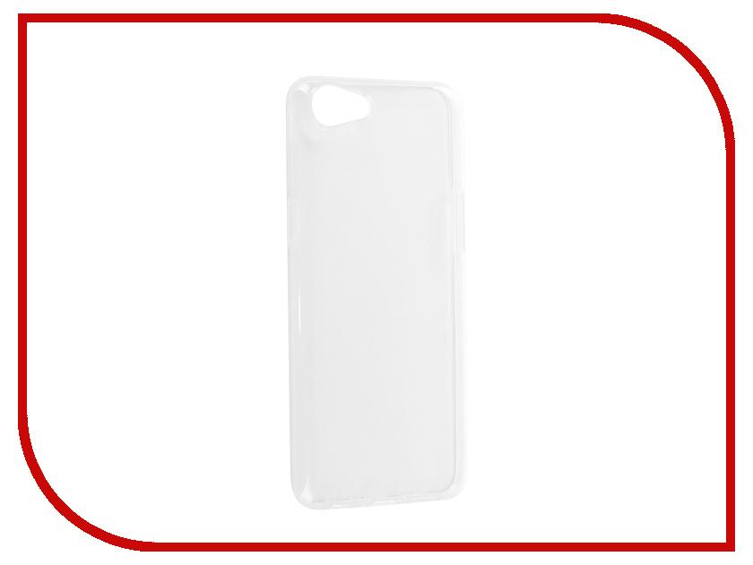 Аксессуар Чехол-накладка Oppo A83 Media Gadget Essential Clear Cover ECCOA83TR аксессуар защитная пленка alcatel onetouch idol alpha media gadget premium прозрачная mg986