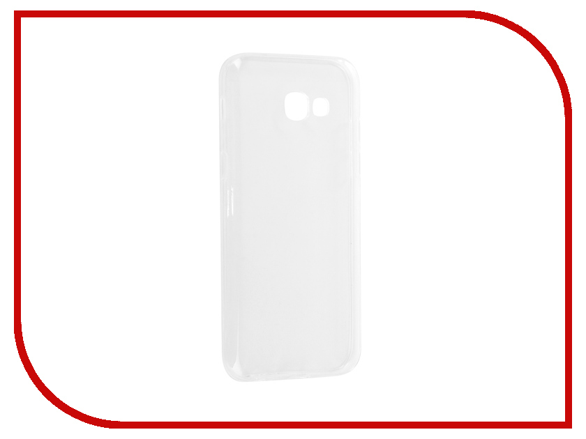 Аксессуар Чехол-накладка для Samsung Galaxy A5 2017 Media Gadget Essential Clear Cover ECCSGA517TR