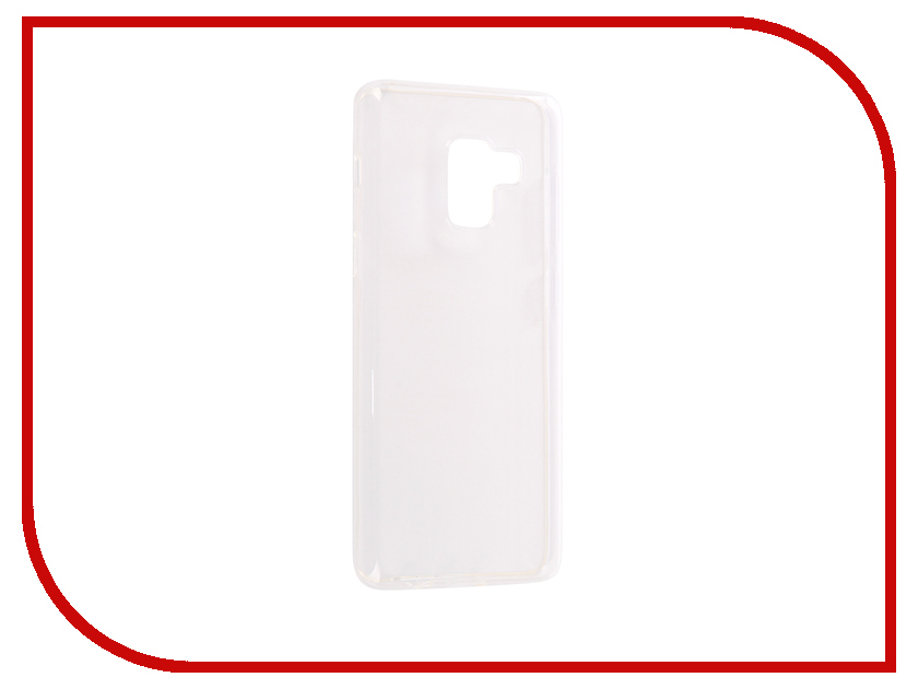 Аксессуар Чехол-накладка для Samsung Galaxy A8 2018 Media Gadget Essential Clear Cover ECCSGA818TR аксессуар чехол для samsung a8 2018 a530 zibelino clear view blue zcv sam a530 blu