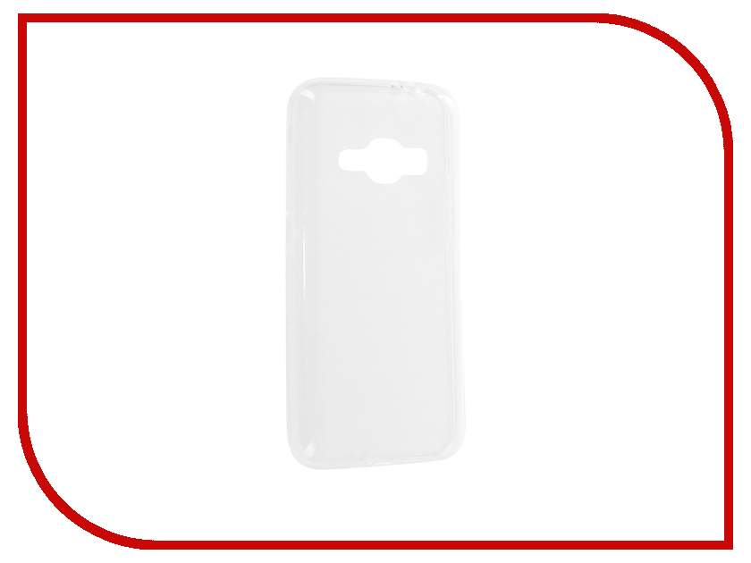 Аксессуар Чехол-накладка Samsung Galaxy J1 2016 Media Gadget Essential Clear Cover ECCSGJ116TR