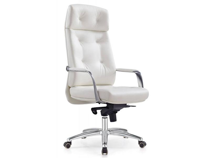 Компьютерное кресло Бюрократ DAO White