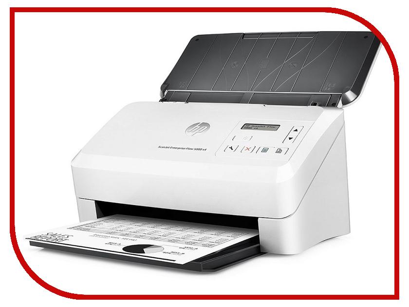 Сканер HP ScanJet Enterprise Flow 5000 s4 hewlett packard hp h3100 гарнитура с пшеницей проводной игровой гарнитуры белый офис