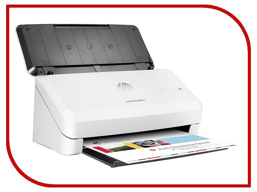 Сканер HP ScanJet Pro 2000 s1 hp scanjet pro 2000 s1