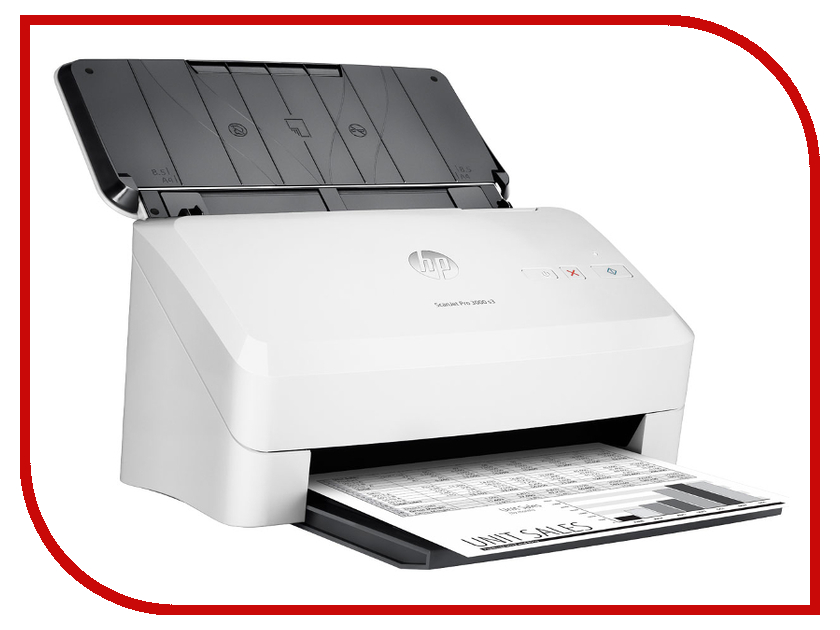 Сканер HP ScanJet Pro 3000 s3 Sheet-feed сканер hp scanjet pro 3000 l2753a b19