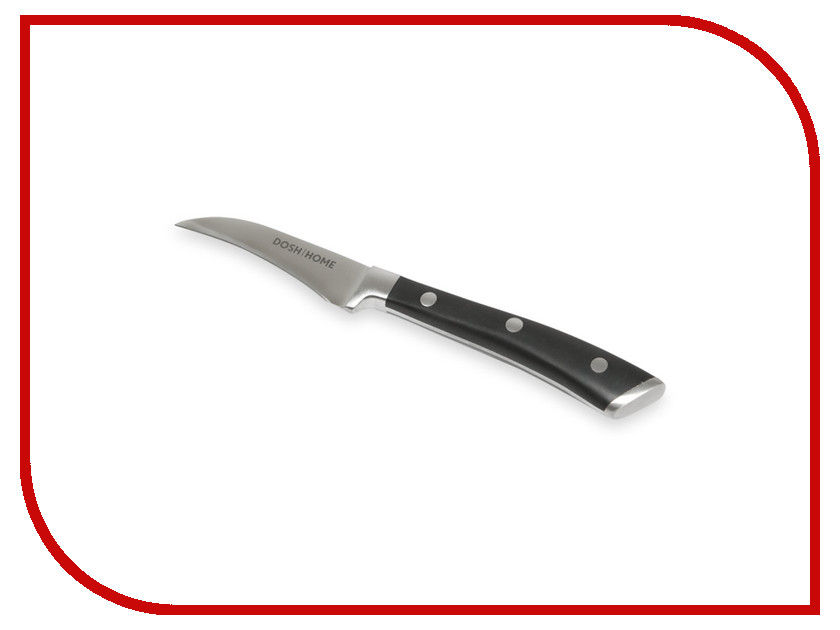 Нож Dosh i Home Leo 100801 - длина лезвия 90мм нож кулинарный dosh l home lynx длина лезвия 16 см