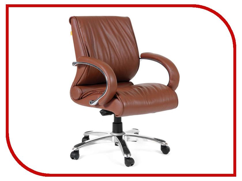 Компьютерное кресло Chairman 444 Brown 00-06078156 компьютерное кресло chairman 840 white orange 00 06111656
