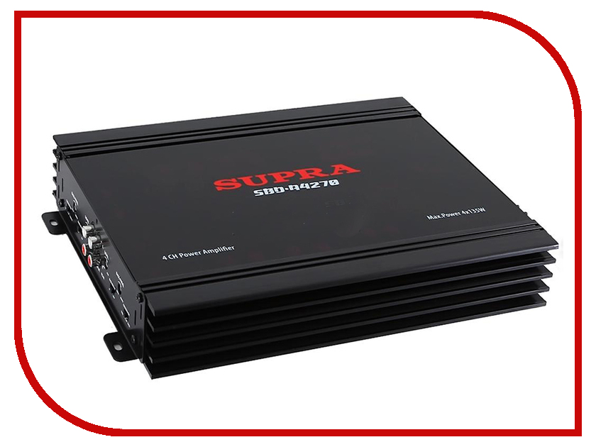 Усилитель SUPRA SBD-A4270 усилитель звука supra sbd a4240 4 канальный