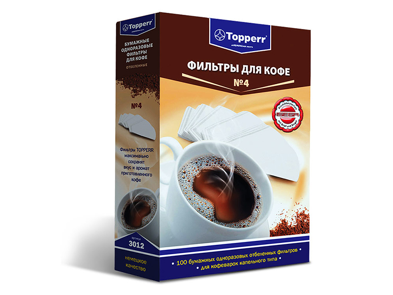 Фильтр для кофеварки Topperr 3012 topperr 1306 ir5