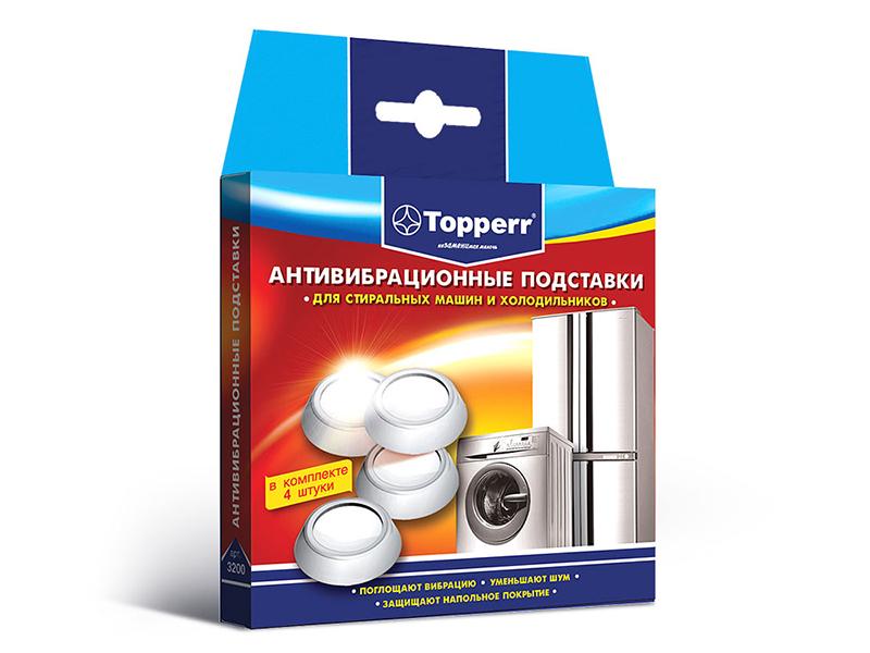 Аксессуар Антивибрационные подставки для стиральных машин и холодильников Topperr 3200