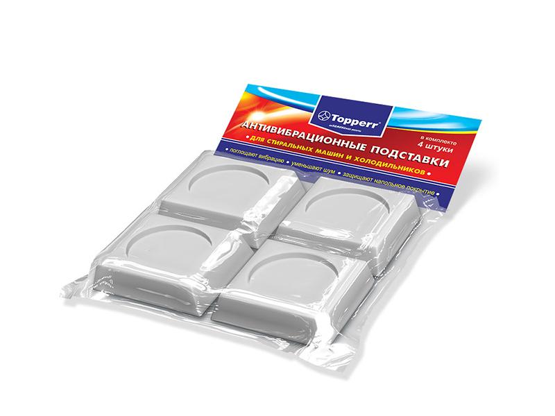 Аксессуар Антивибрационные подставки для стиральных машин и холодильников Topperr 3208